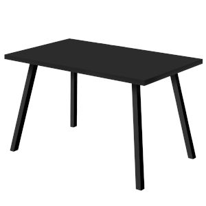 Black Rectangular Dining Table