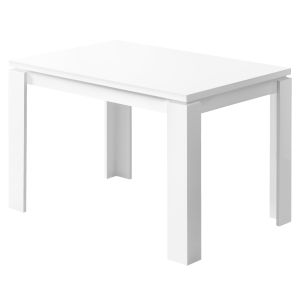 White Rectangular Dining Table