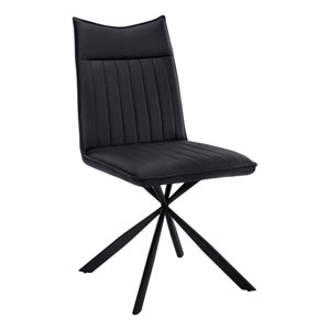 Black Dining Chair, Set of 2
