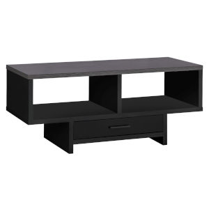 Black Grey Rectangular Coffee Table