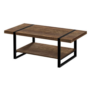 Black and Brown Coffee Table