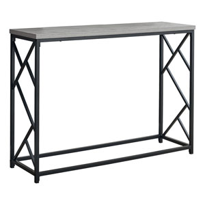 Gray 44-Inch Console Table