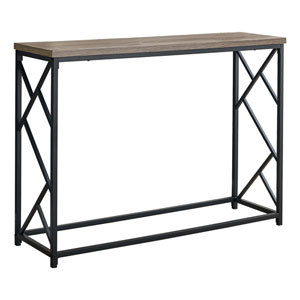 Dark Taupe 44-Inch Console Table