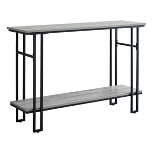 Gray 14-Inch Console Table