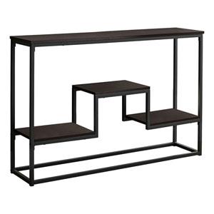 Espresso Console Table