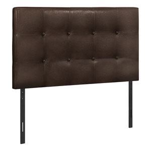Brown and Black Twin Headboard