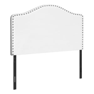 White and Black Twin Headboard