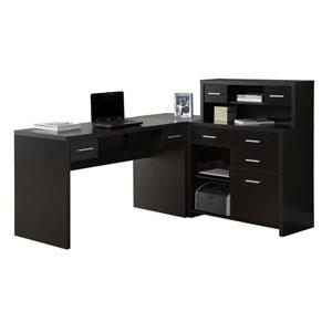 Cappuccino 63-Inch Computer Desk