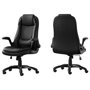 Black 30-Inch Office Chair