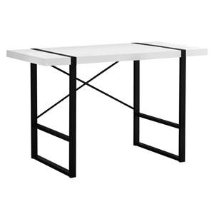 White 49-Inch Computer Desk