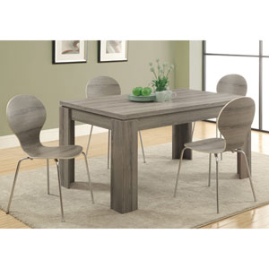 Dining Table - Dark Taupe