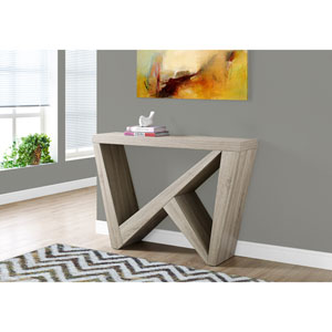 Accent Table - 48L / Dark Taupe Hall Console