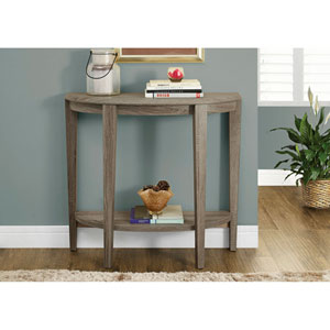 Dark Taupe 36-Inch Accent Table
