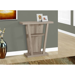 Accent Table - 32L / Dark Taupe Hall Console