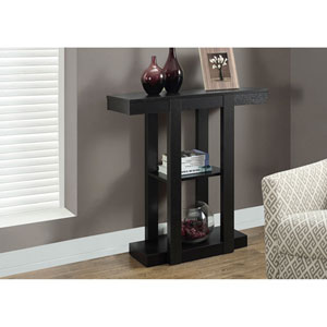 Cappuccino 32-Inch Accent Table