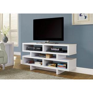 White 48-Inch TV Console