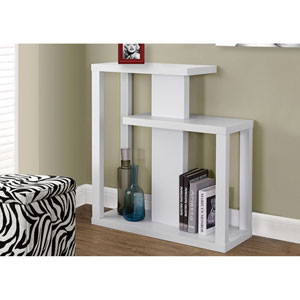 White 32-Inch Accent Table