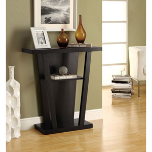 Accent Table - 32L / Cappuccino Hall Console