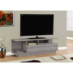 Dark Taupe 60-Inch TV Stand