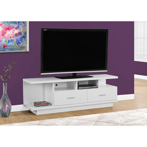 White 60-Inch TV Stand