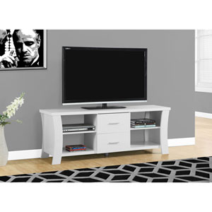 White 60-Inch TV Stand