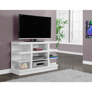 White 48-Inch TV Stand