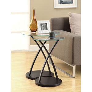 Nesting Table - 2 Piece Set / Cappuccino Bentwood