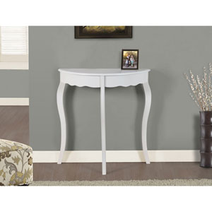Antique White 31-Inch Accent Table