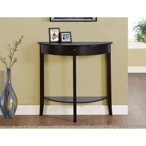 Dark Cherry 31-Inch Accent Table