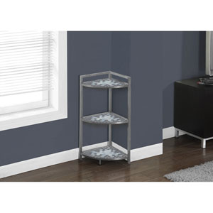 Grey 30-Inch Accent Table