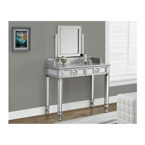 Silver 6-Inch Accent Table