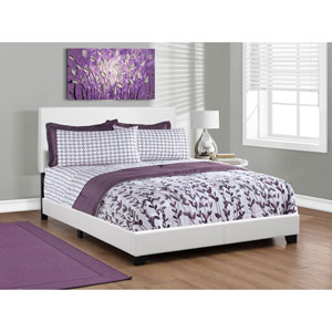 White Queen Size Bed