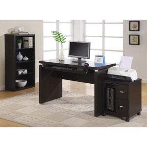 Computer Desk - 48L / Cappuccino