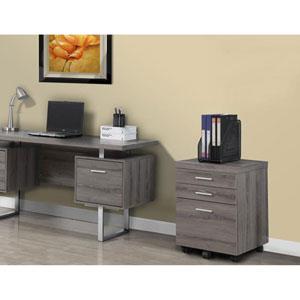 Dark Taupe File Cabinet