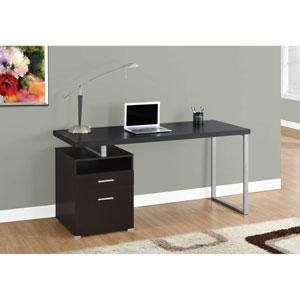 Cappuccino 60-Inch Computer Desk
