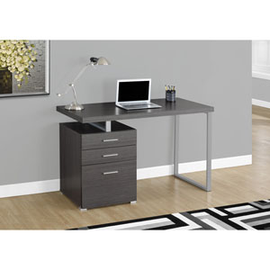 Computer Desk - 48L / Grey Left or Right Facing