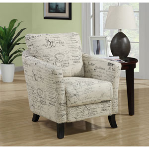 Accent Chair - Vintage French Fabric