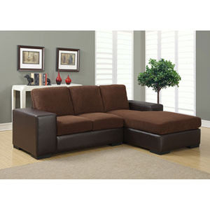 Dark Brown Sofa Lounger