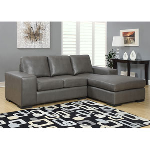 Charcoal Grey Sofa Lounger