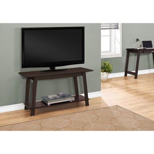 Cappuccino 42-Inch TV Stand