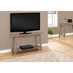 Dark Taupe 42-Inch TV Stand
