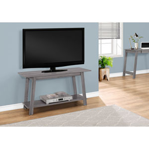 Grey 42-Inch TV Stand