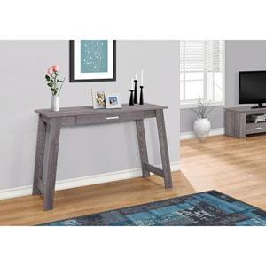 Grey 42-Inch Computer Desk with A Storage Drawer