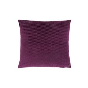 18-Inch Purple Diamond Velvet Pillow