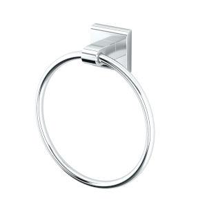 Tru Chrome 7-Inch Towel Ring