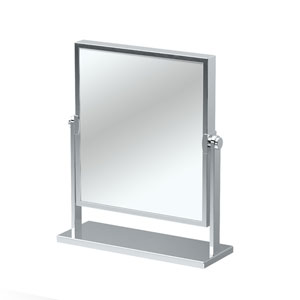 Elegant Table Mirror Chrome