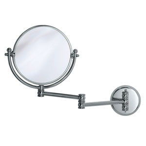 Premier Chrome Swing Arm Mirror
