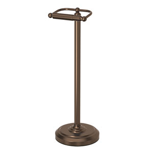 Bronze Floor Standing Tissue Holder