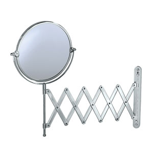 Premier Chrome Accordion Mirror