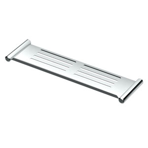 Elegant Chrome 19-Inch Shower Shelf